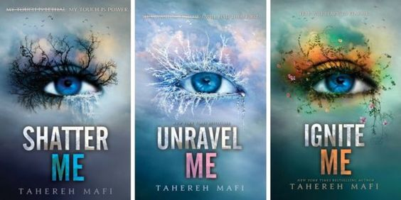"Book Review : ""Shatter Me"" Trilogy by Tahereh Mafi."
