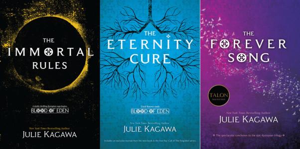 Resultado de imagen para Blood of Eden by Julie Kagawa books