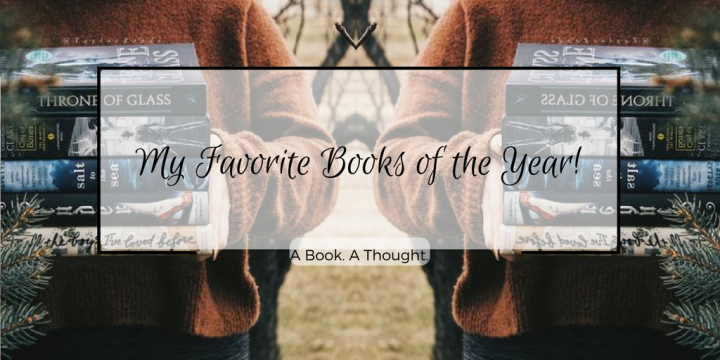 My Favorite Books of the Year! [2017]