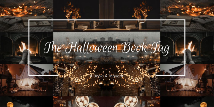 The Halloween Book Tag 🦇