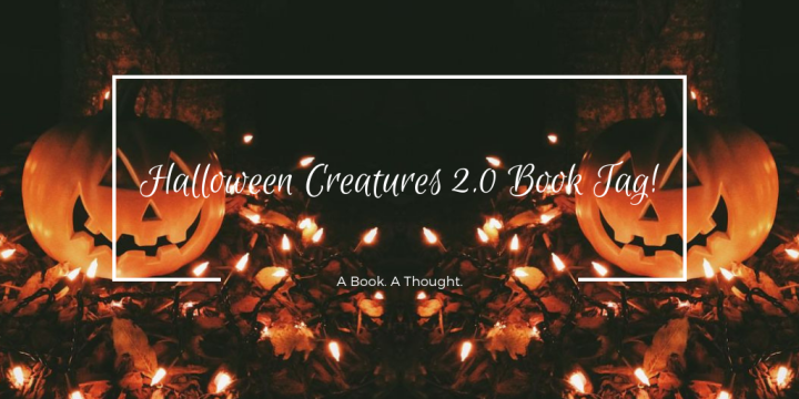 Halloween Creatures 2.0 Book Tag!🎃