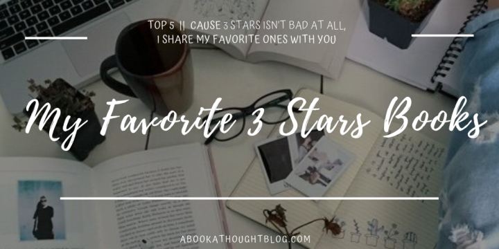 Top 5 || My Favorite 3 Stars Books ☘️