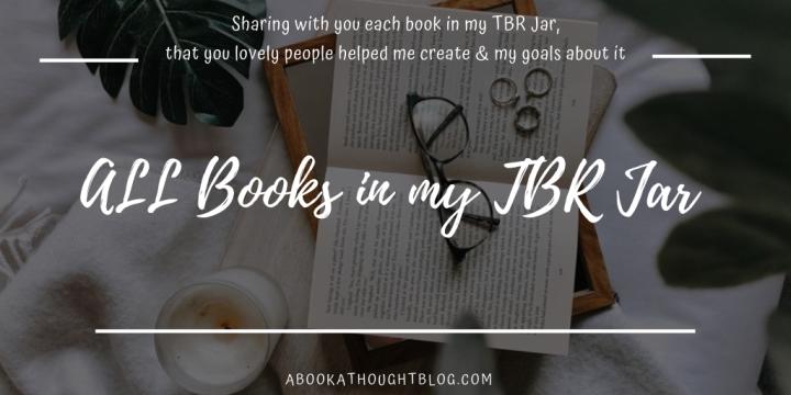 My TBR Jar | 30+ Books⚱️
